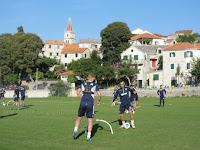 Hajduk Split pripreme Postira slike otok Brač Online