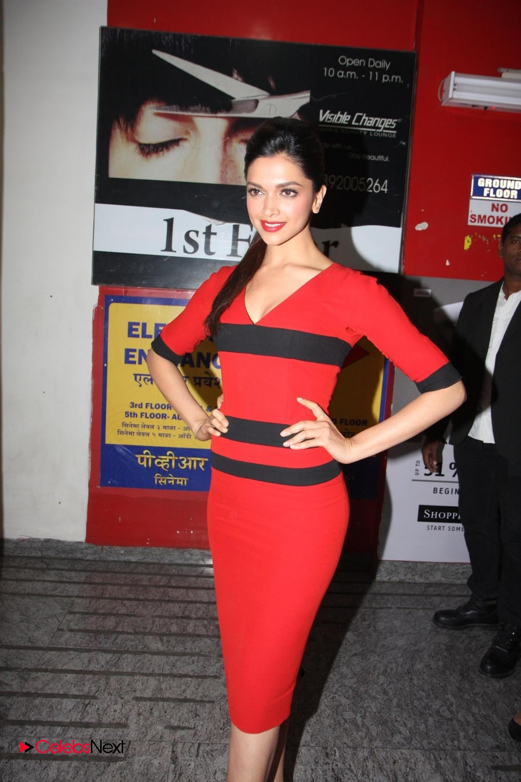 Deepika Padukone Latest Photos in Black Dress at Lakme ...