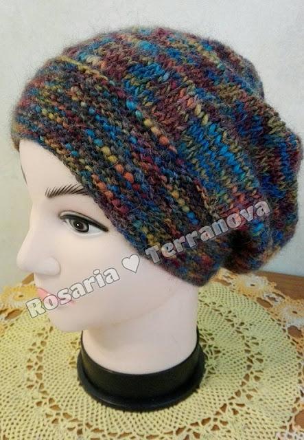 Le passioni di Sara  Tutorial cappello da donna realizzato con i ... 1d39ec4d00bf