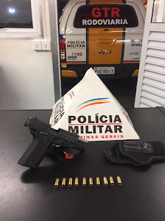 POLICIAMG - Arma apreendida