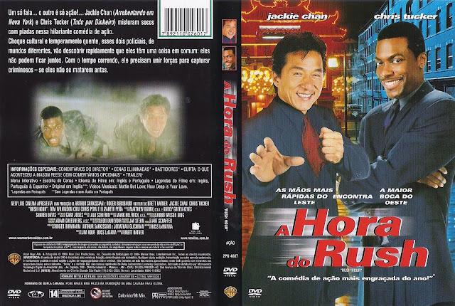 Capa DVD A Hora do Rush