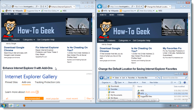 My World Thru A Web Browser: Tweaking Internet Explorer 9