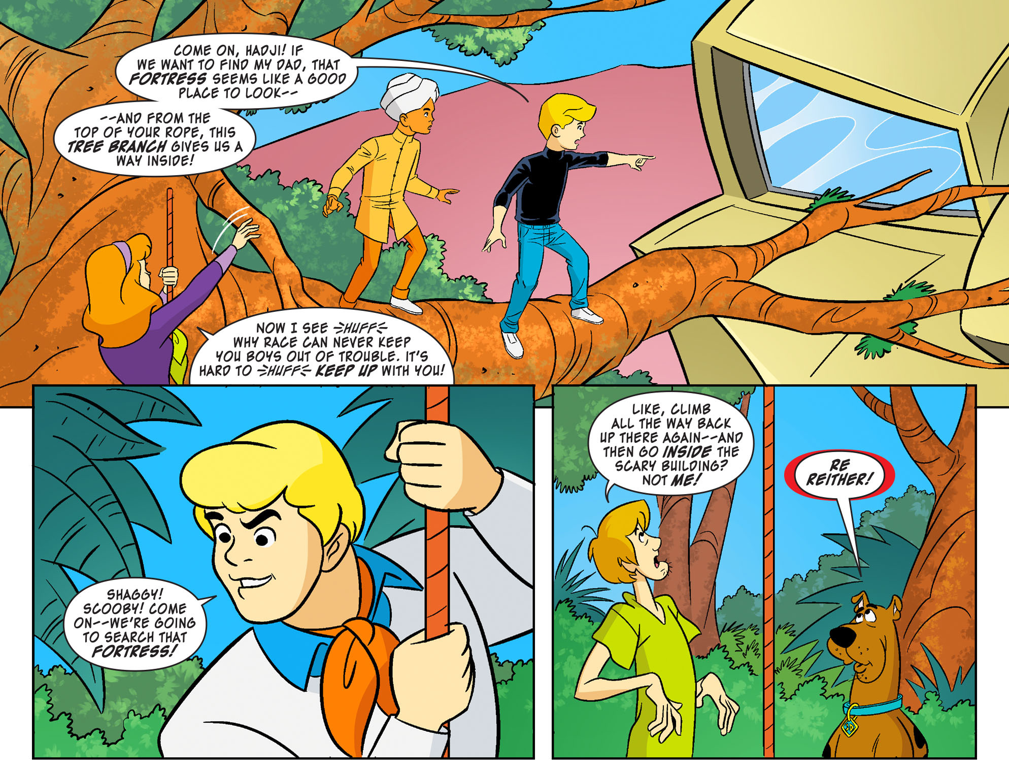 Read online Scooby-Doo! Team-Up comic -  Issue #20 - 14