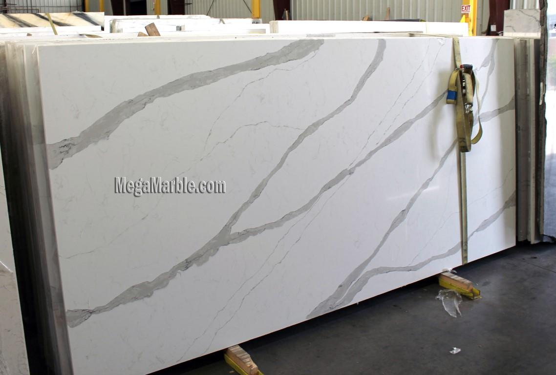 White granite that looks like calcutta marble - White Quartz Slabs For Countertops
