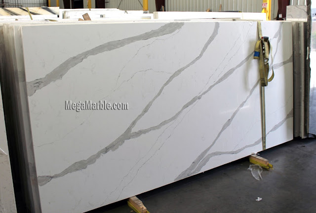 White Quartz Slabs For Countertops