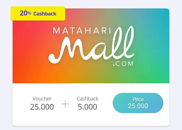 Cara Penukaran Cash Vocher Matahari Mall (Cashtree)