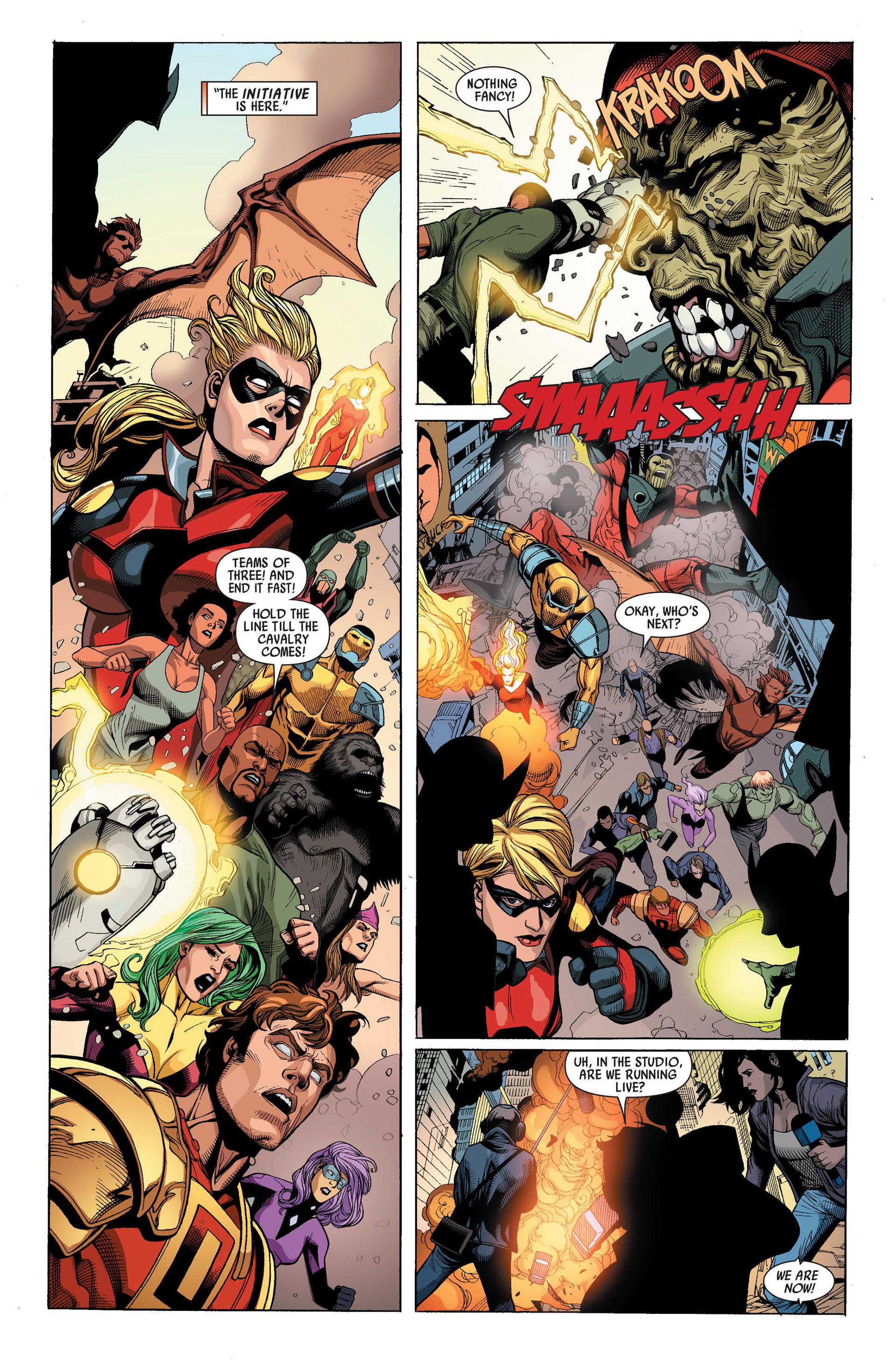 Read online Secret Invasion comic -  Issue #3 - 10
