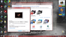 screensaver asus rog di windows 7