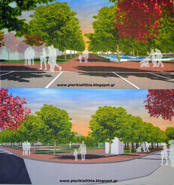 Ο Δήμαρχος Κατερίνης Σάββας Χιονίδης παρουσίασε το σχέδιο για την πλατεία Δημοκρατίας (ΕΥΚΑΡΠΙΔΗ)