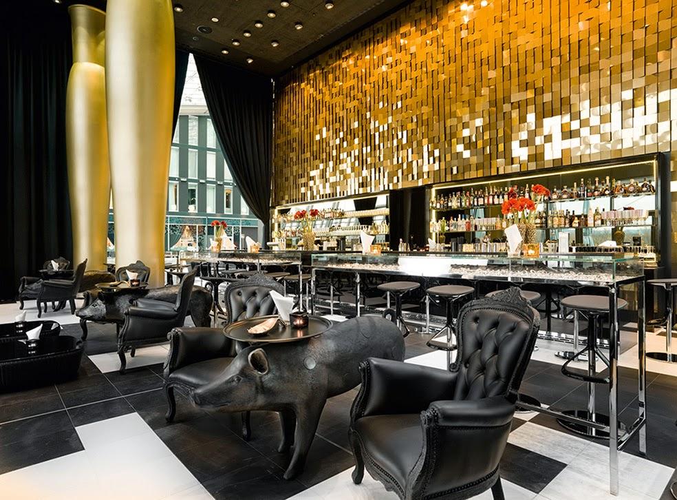 les plus beaux hotels design du monde h tel kameha grand. Black Bedroom Furniture Sets. Home Design Ideas