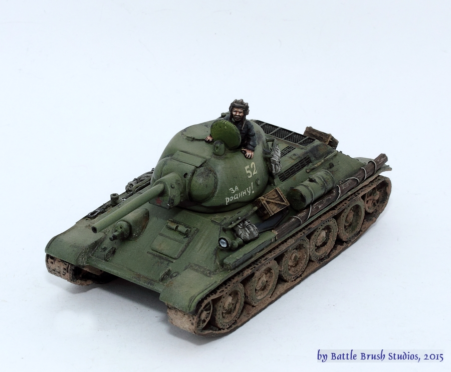 Battle Brush Studios: Review: 15mm Panthers by Plastic