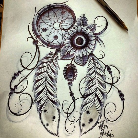Popular Dreamcatcher Tattoos For Women & Men