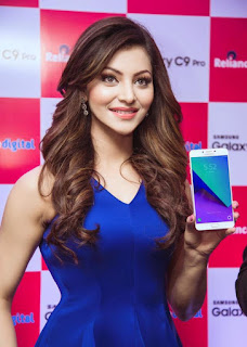 Urvashi Rautela at Samsung Phone Launch
