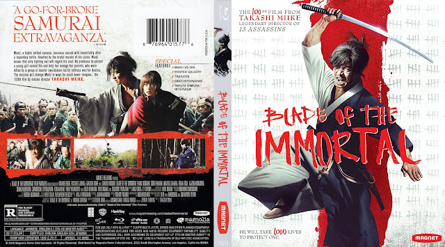 Blade Of The Immortal Bluray Cover