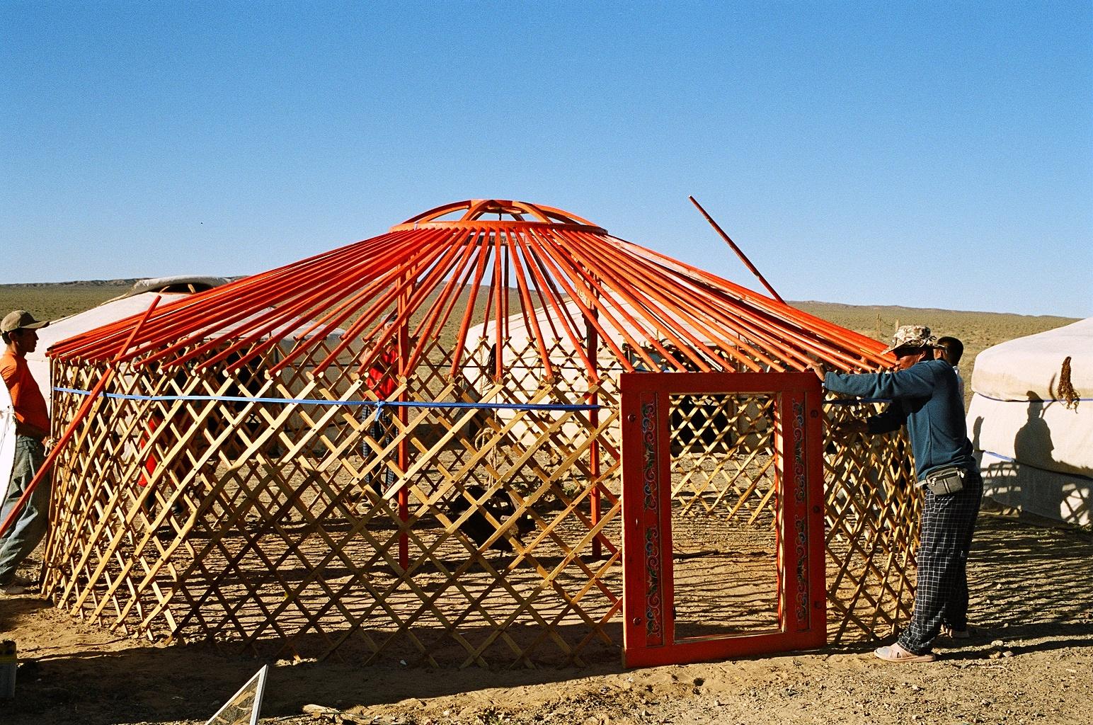 Lisa LI ARCH7111: Mongolian Yurt