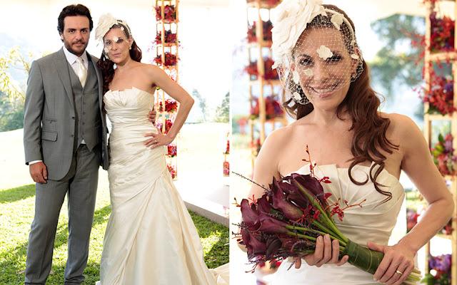 vestido de noiva carolina ferraz em o astro