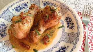 Pollo al Horno con Salsa de Tomates, Secados al Sol y Parmensa