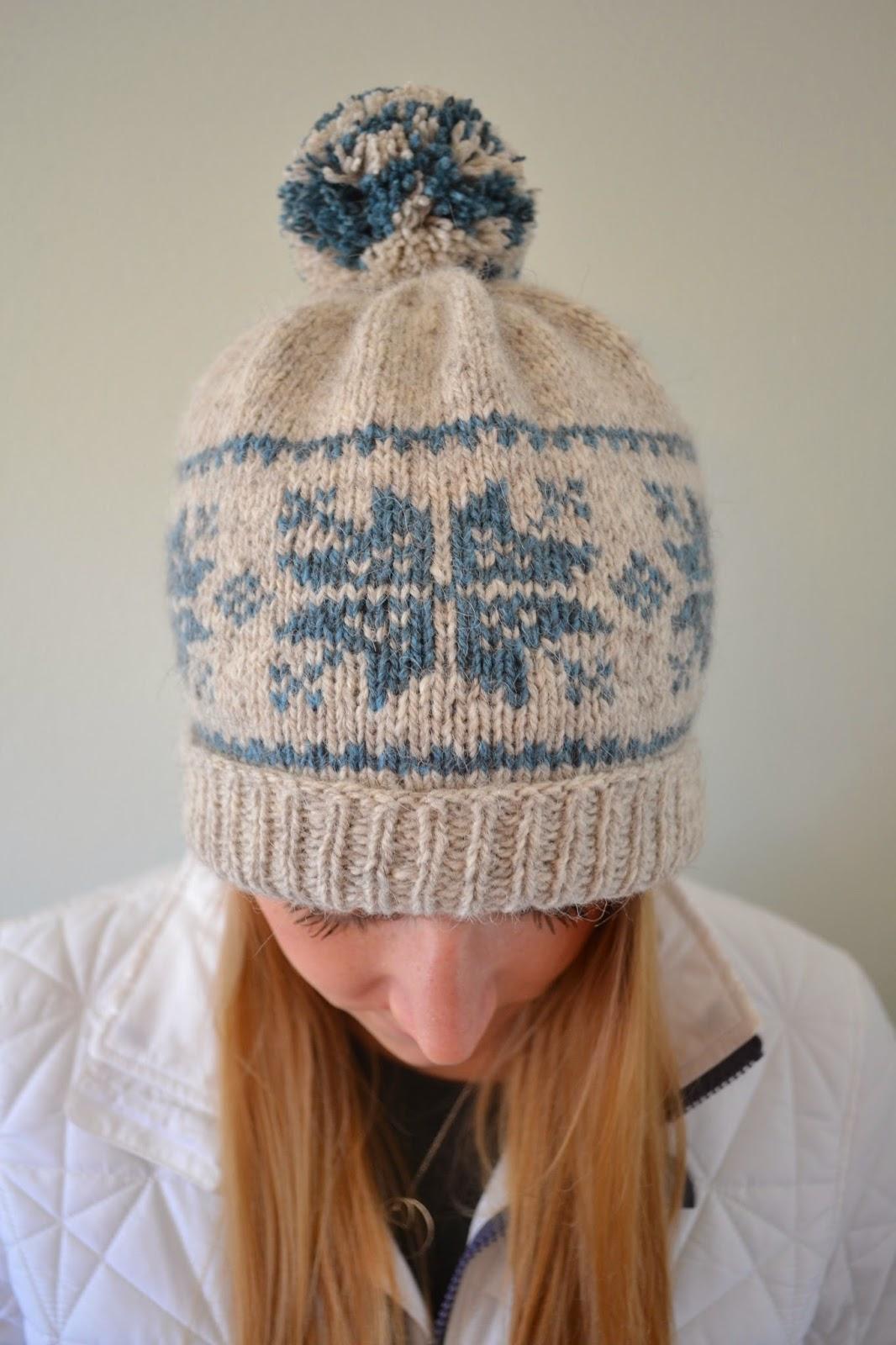 Susan B. Anderson  Split Back Snowflake Hat d716dda911c