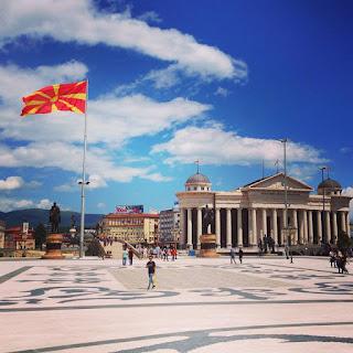 Plaza de Macedonia. Foto de Toni Tena C.