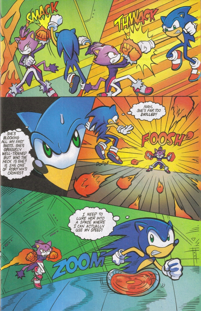 Read online Sonic The Hedgehog comic -  Issue #161 - 23