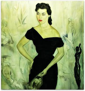 João Fahrion - Retrato de Maria José Cardoso (1956)