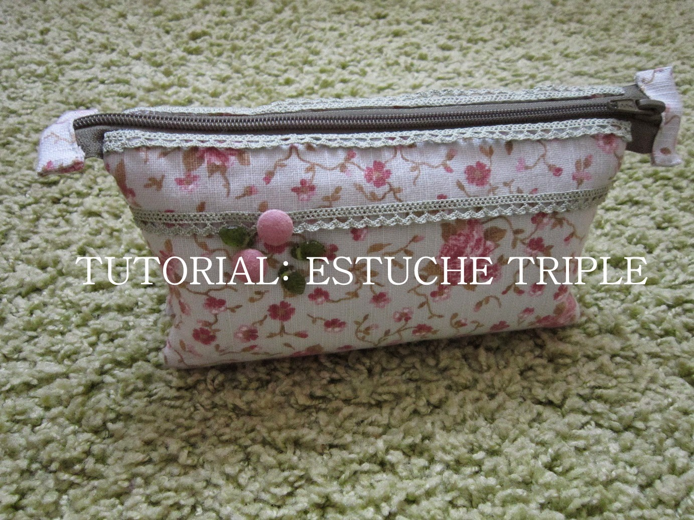 Tutorial estuche triple