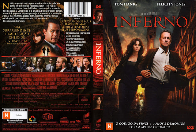Capa DVD Inferno