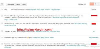 Jangan biarkan blog jadi sarang spammer1