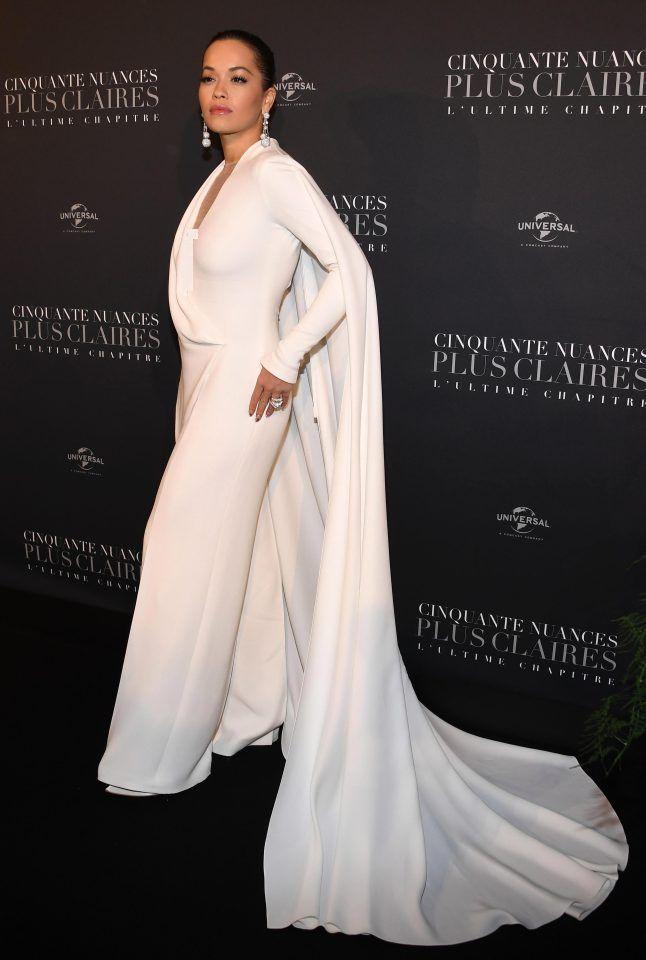 Rita Ora, Dakota Johnson, Liam Payne at Fifty Shades Freed premiere