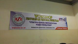 Workshop Hibah Penelitian