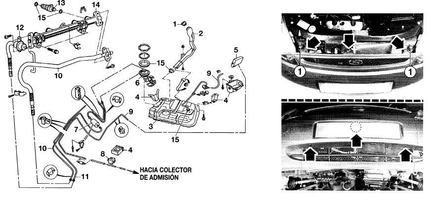 manuales de mec u00e1nica y taller  ford ka manual de taller