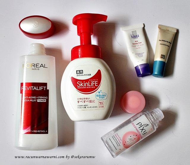 Skincare Yang Berhasil Dihabiskan