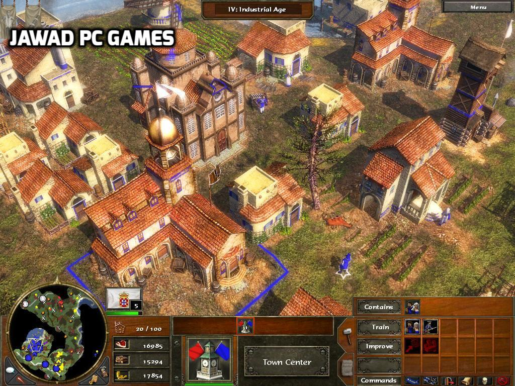 age of empires 3 free download highly compressed