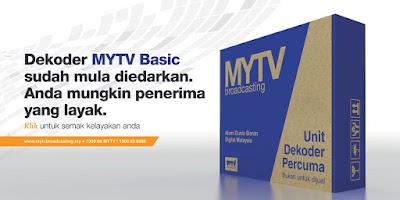 Semakan MYTV 2019 Nama Penerima Dekoder Percuma
