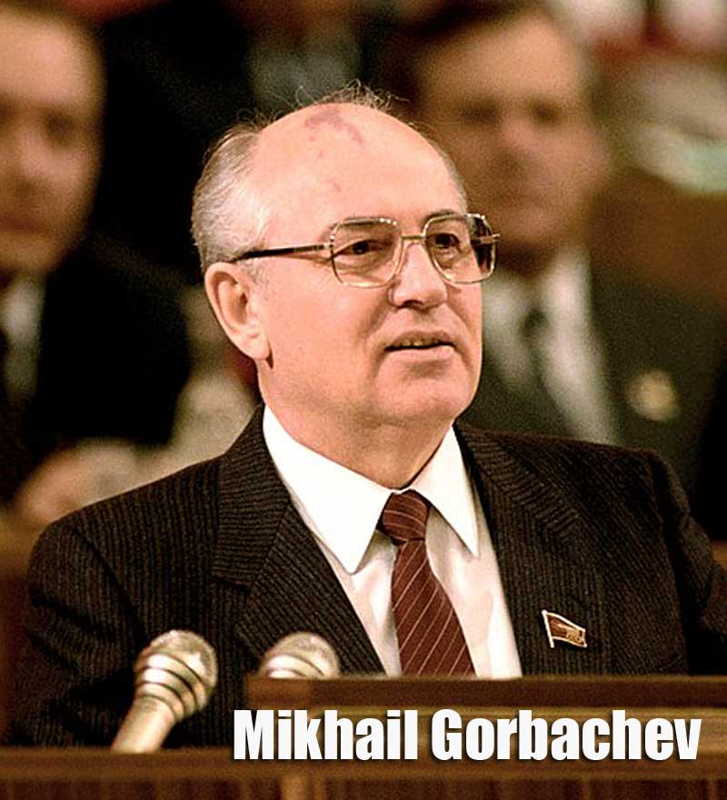 Foto Mikhail Gorbachev