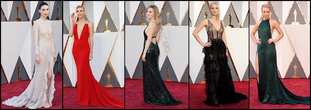 Las mejor vestidas de la Alfombra Roja de los Oscars 2016