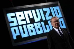 Michele Santoro a Servizio Pubblico