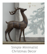 Simple Minimalist Christmas Decor