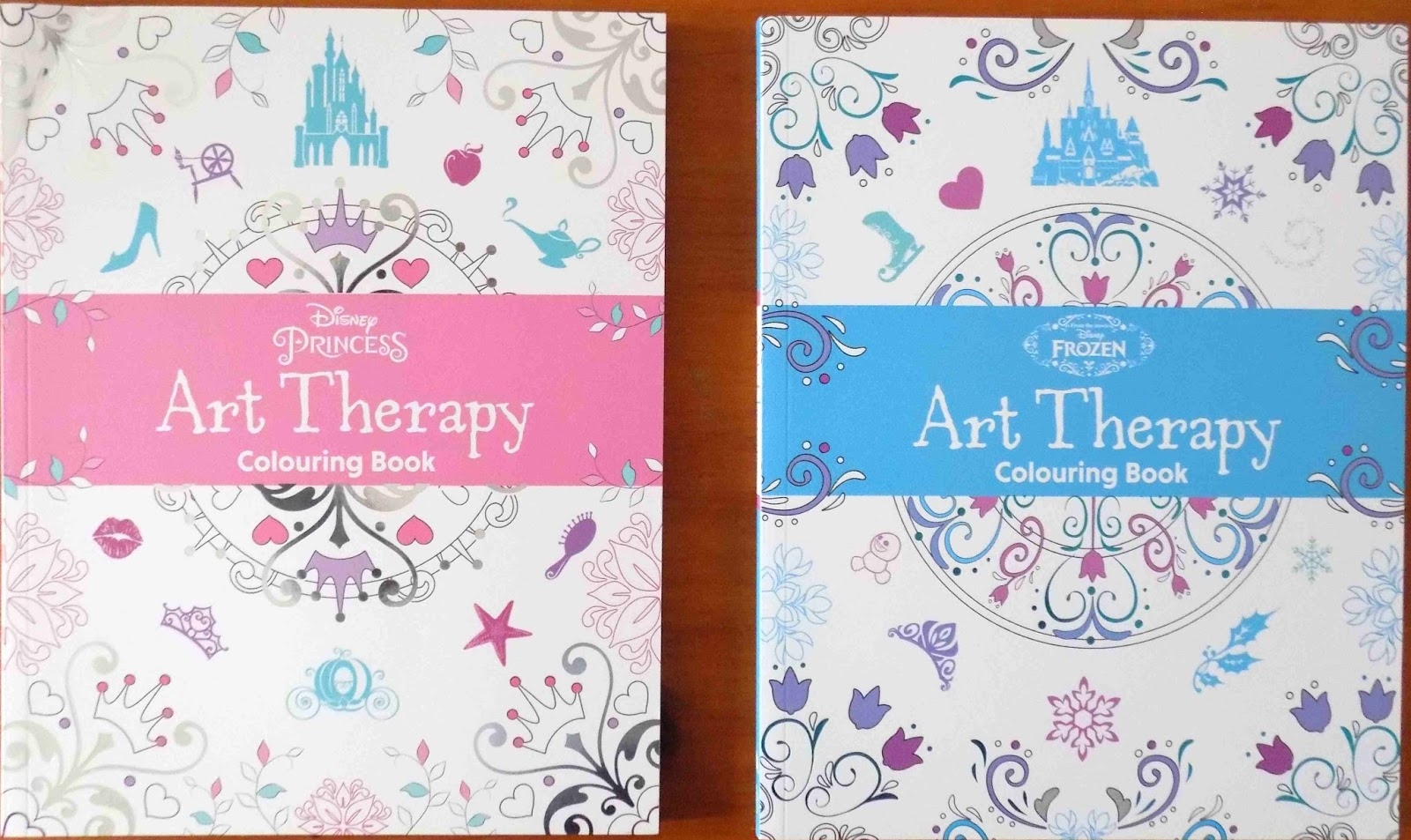 Disney princess art therapy colouring book - Disney Art Therapy Colouring Books Review As Book Buddies We Re Always Excited To See Which Books Parragon Will Have Selected For Us To Review In Our