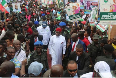 5,000 APC Members Decamp To PDP In Delta State (Photo)