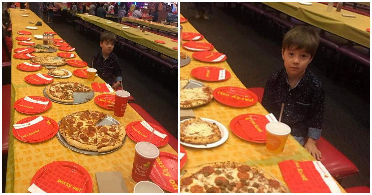 6χρονος κάλεσε 32 συμμαθητές του για τα γενέθλιά του και δεν εμφανίστηκε κανείς