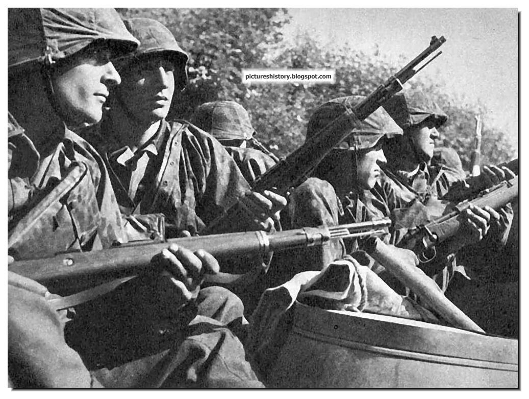 Pictures from history rare images of war history ww2 nazi germany waffen ss in action rare unseen pictures part 2