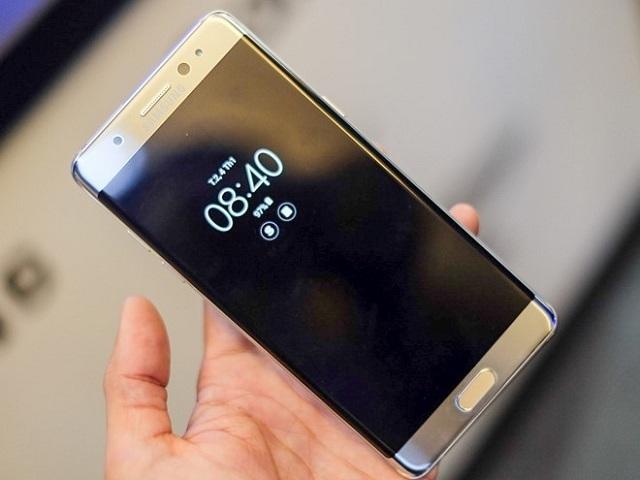 thay mặt kính Samsung Galaxy Note 7 chính hãng