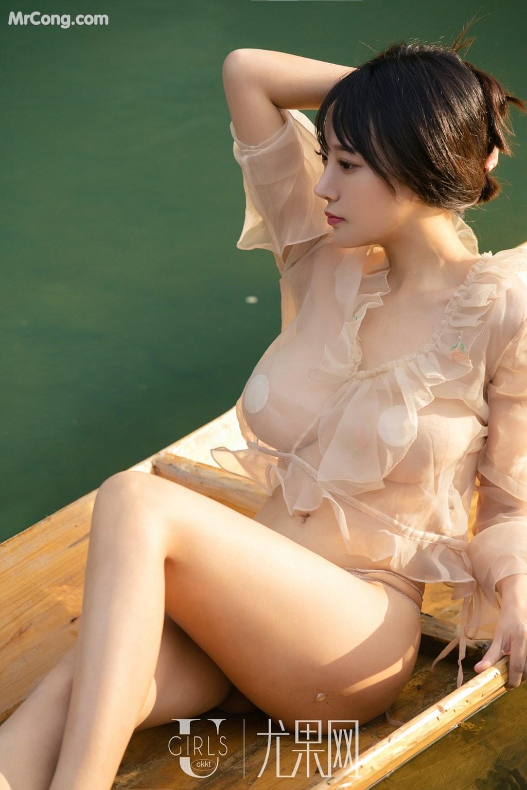 Image UGIRLS-U318-He-Jia-Ying-MrCong.com-050 in post UGIRLS U318: Người mẫu He Jia Ying (何嘉颖) (66 ảnh)