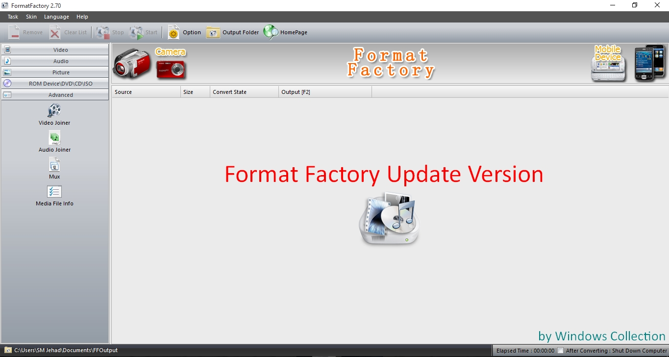 Format Factory Free Download - Video Converter Software