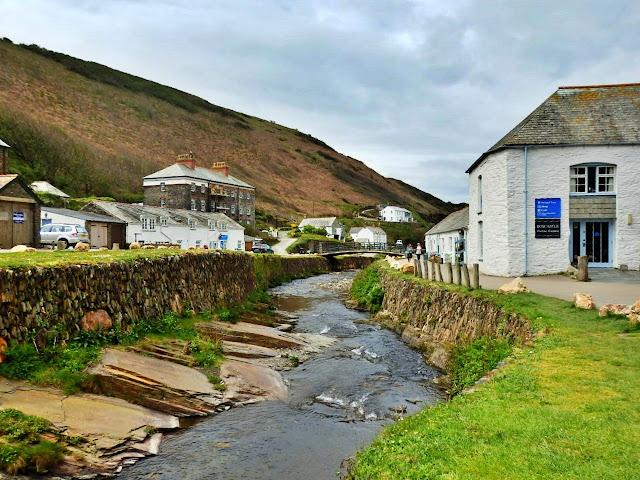 River running through Boscastle, Cornwall