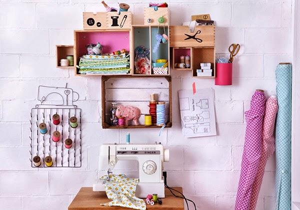 Twelve Inspiring DIY Projects - DIY Wall Display Shelves
