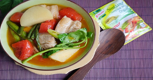 Knorr Pork Sinigang With Pakwan Recipe