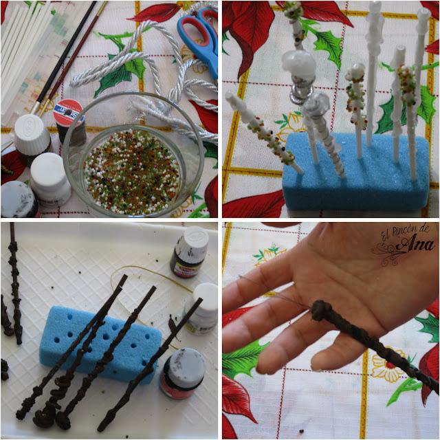 Árbol navideño inspirado en Harry Potter