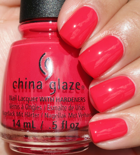 China Glaze Hot Flash